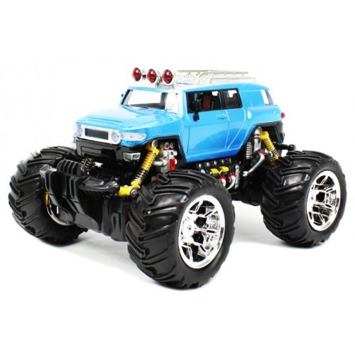 (Velocity Toys Toyota FJ Cruiser Electric RC Truck 1:16 Monster RTR (Colors May Vary))