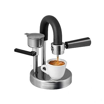 QHYY Cafetera Manual portátil Cafetera de Acero Inoxidable para ...