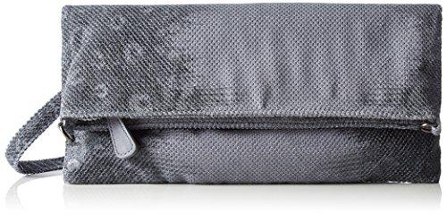 Boscha Clutch - Pochettes Femme Gris (Silver Stone)