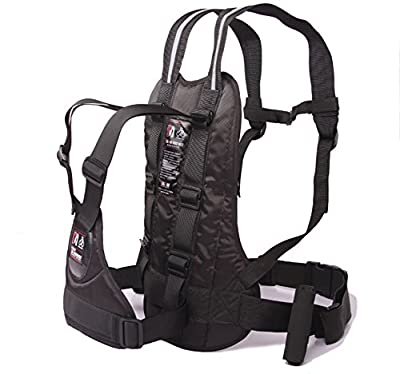 LOLBUY High Strength Childrens Motorcycle Safety Harness Can be Adjusted Up and Down,Black.