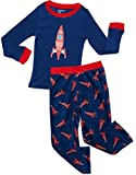 Fleece & Cotton 2 Piece Pajama Rockets 10 Years
