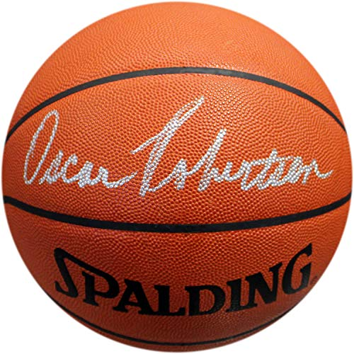 Oscar Robertson Autographed Official NBA Leather Basketball ()