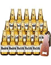 Cerveza Modelo Especial 18 Botellas 355 ml + Destapador Metálico