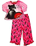 Puss In Boots - Little Girls' Long Sleeve Puss In Boots Pajamas, Pink 30334-5