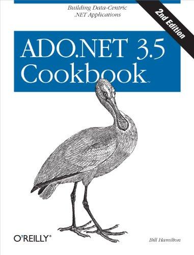 Download ADO.NET 3.5 Cookbook (Cookbooks (O'Reilly)) Pdf