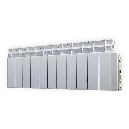 farho LPD - Radiador Eléctrico de bajo Consumo 825 W, Digital Programable y con opción