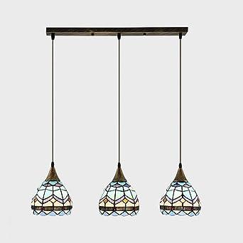 Candelabro de estilo Tiffany para el comedor, luces ...