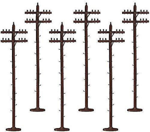 LIONEL 6-37851 Scale Telephone Poles Standard