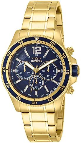 Invicta Men s INVICTA-13978 Specialty 18k Gold Ion-Plated Watch
