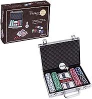 Smilejoy Casino Poker Chips Set,11.5 Gram for Texas Holdem Blackjack Gambling with Aluminum Case