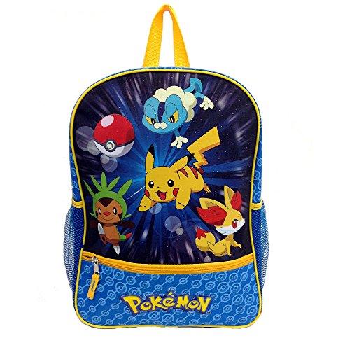 Pokemon X & Y Starters Backpack Froakie Chespin Fennekin Reflective