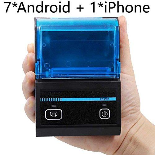 FREELOVE Bluetooth portátil caja registradora térmica de recibos impresora, 58mm, comida para llevar, PEDIDOS...