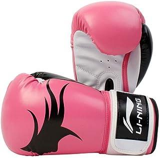 Haoyushangmao Gants de boxe, Gants adultes Sanda se battant Muay Thai se battant Formation professionnelle Gants de sac de sable Gants, Protecteur des doigts Homme Protecteur des doigts, Rose Powder /