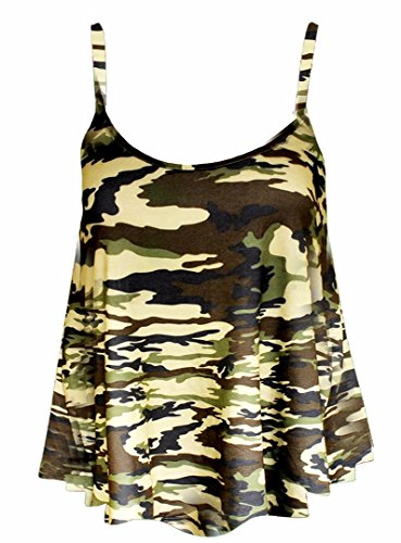 Elum® - Camiseta sin mangas - para mujer Ejército