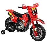 Vroom Rider VR098 6V Battery Operated Dirt Bike, Red