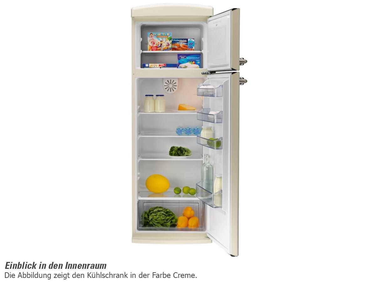 Retro Kühlschrank Oranier : Oranier rkg freistehend kühl kombination lindgrün gefrierteil