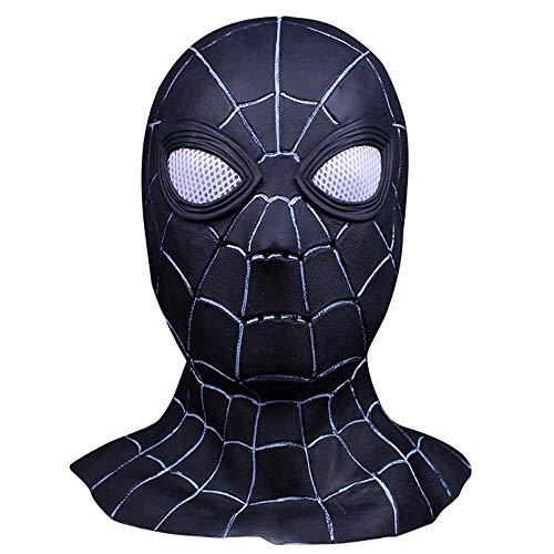 Shancon Homecoming Black Spiderman Mask Iron Cosplay Spider Masks Full Head Hood Props Costume -