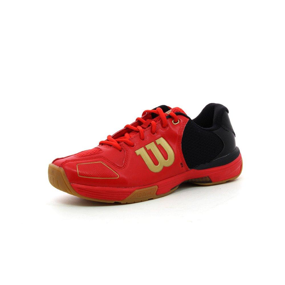 Wilson Rot Unisex-Erwachsene Vertex Turnschuhe Rot Wilson / Schwarz / Gold 7f28fc