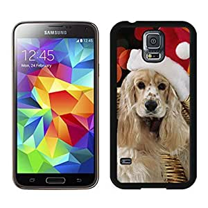 Customized Design Christmas Dog Black Samsung Galaxy S5 Case 9
