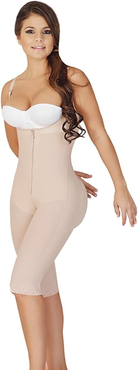 Faja Body Shaper Anti-Allergy Vest Shapewear Moldeadora Bodysuit Nude