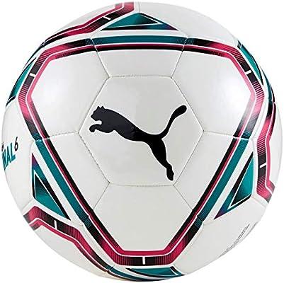 PUMA teamFINAL 21.6 MS Ball Balón de Fútbol, Unisex-Adult, White ...