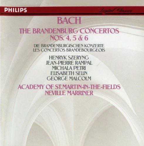 Price comparison product image Bach, J.S.: Brandenburg Concertos Nos.4, 5 & 6