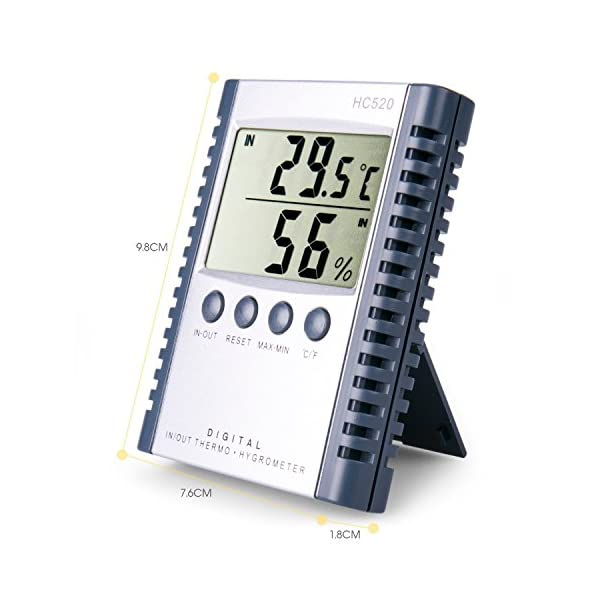 Weather-Thermometers-Digital-Indoor-and-Outdoor-Temperature-Humidity-thermomete-Wall-Mount-Monitor-Sensor-Thermostat-by-Mikiz
