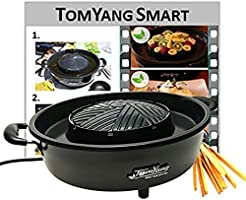 TomYang BBQ - The electric Thai BBQ grill and hot pot. Tabletop grill and fondue with ceramic coating.