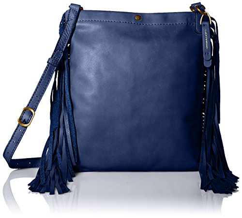 Boho-Chic Vacation & Fall Looks - Standard & Plus Size Styless - Lucky Brand Rickey Cross Body, American Navy, One Size