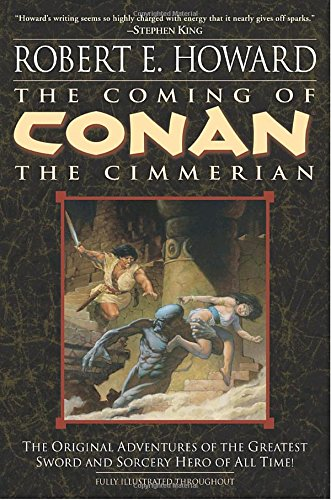 Signed Robert Woods - The Coming of Conan the Cimmerian: The Original Adventures of the Greatest Sword and Sorcery Hero of All Time!