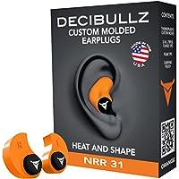 Decibullz - Custom Molded Earplugs, 31dB Highest NRR,...