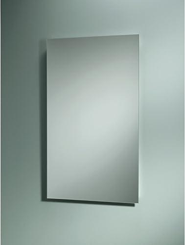 Jensen B7733 Focus Single-Door Recessed Medicine Cabinet, 3-Shelves