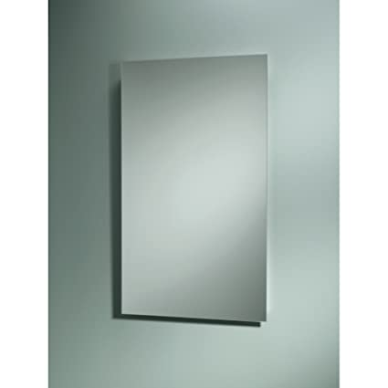 Jensen B7733 Focus Single Door Recessed Medicine Cabinet, 3 Shelves