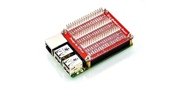 Angelelec DIY Open Sources Sensors, Raspberry Pi 2 Model B/B+ Triple