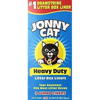Amazon Com Jonny Cat Heavy Duty Litter Box Liners