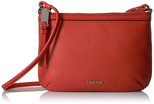 Calvin Klein Carrie Pebble Key Item Crossbody