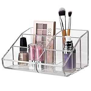 Premium Quality Clear Plastic Cosmetic Storage and Makeup Palette Organizer