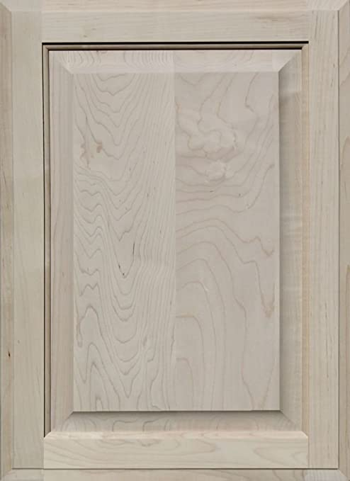 "PAINT GRADE MAPLE FLAT PANEL CABINET DOORS 14 1//2/""W  X 22/""H"