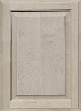 Unfinished Maple Cabinet Door, Square With Raised Panel By Kendor, 22H X 16W
