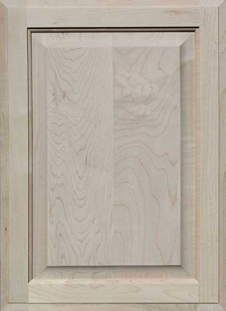 Unfinished Maple Cabinet Door Square With Raised Panel By Kendor