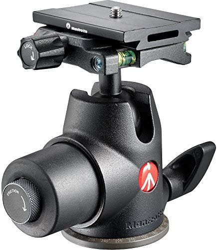 Manfrotto 468MG Hydrostatic Ball Head with MSQ6PL Quick Release Plate [並行輸入品]