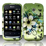 Hawaiian Flowers Hard Faceplate Cover Phone Case for Huawei Fusion U8652, Best Gadgets