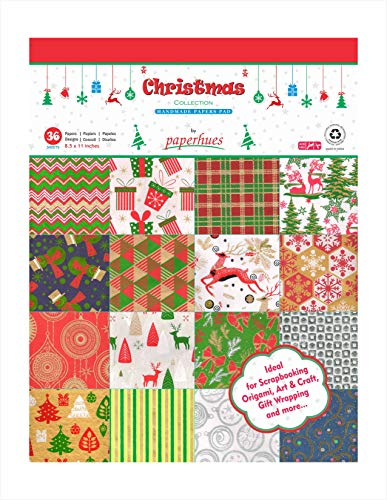 Decoupage Pad (Paperhues Christmas Collection Scrapbook Papers 8.5x11