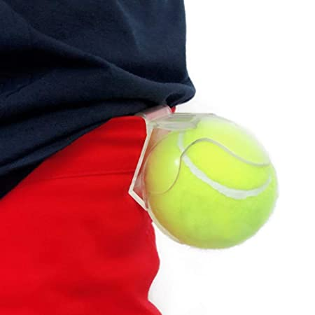 Biggystar Clip de Tenis Soporte de Pelota de Tenis portátil ...