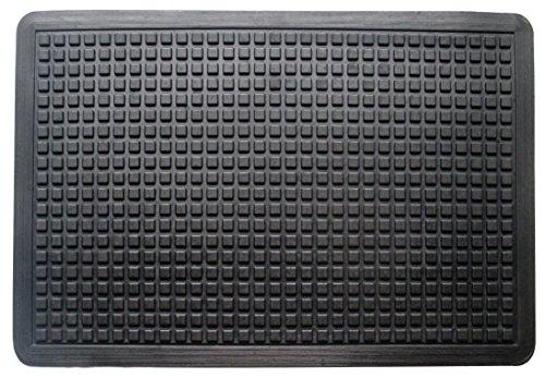 A1 Home Collections A1HCBM02 Doormat Bubbles Top, 100% Rubber, Cushion-Ease, Anti-Fatigue Multi-Purpose Mat