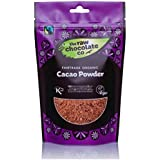 The Raw Chocolate Organic Raw Cacao Powder 180 g (Pack of 3)