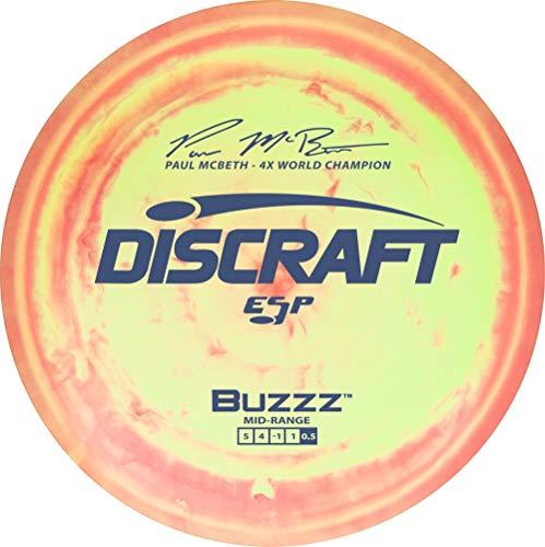 Discraft Paul McBeth Signature ESP Buzzz Midrange Golf Disc [Colors May Vary] - 167-169g