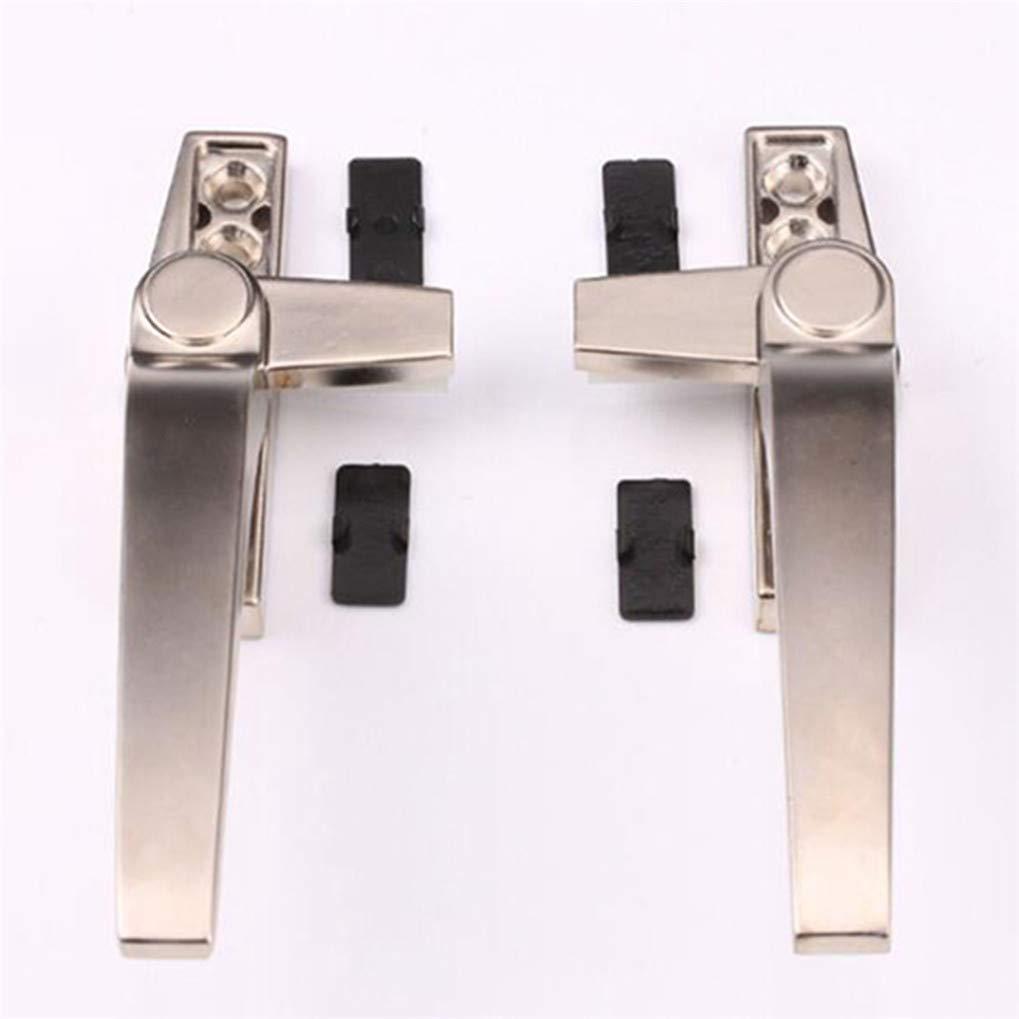 Timesuper Casement Window Aluminum Alloy Locking Handle Grip off-Set Base