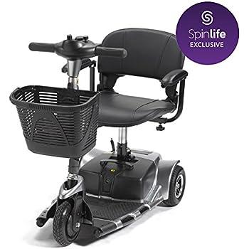 Drive Medical Spitfire SE 3-Wheel Travel Mobility Scooter (Grey)