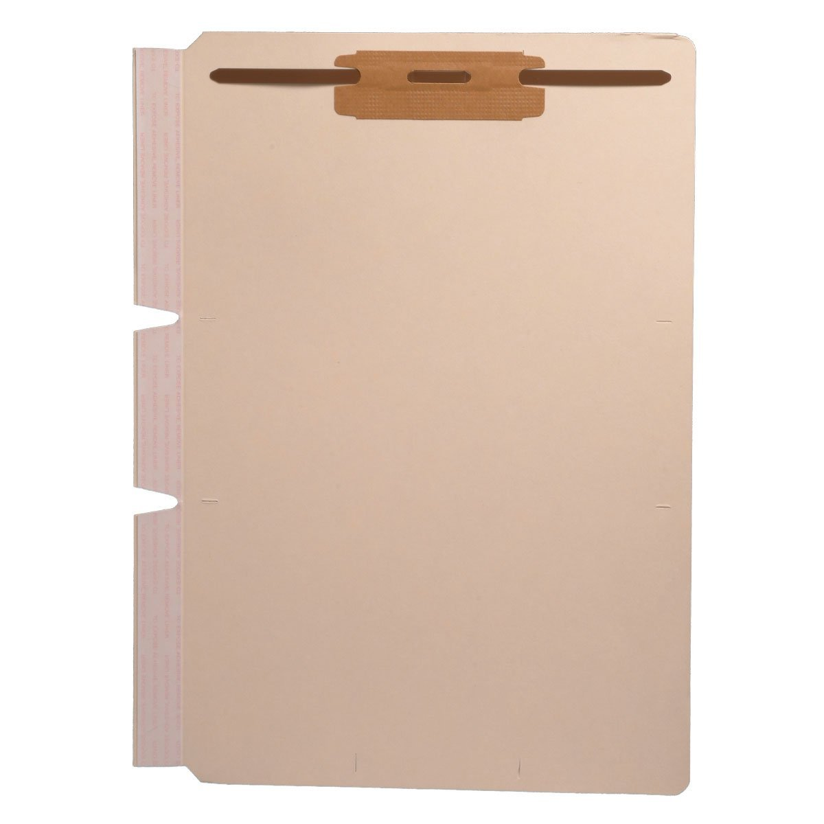 Self Adhesive Divider, Standard Side Flap, 2'' Fastener on Top (Box of 100) by Ecom Folders